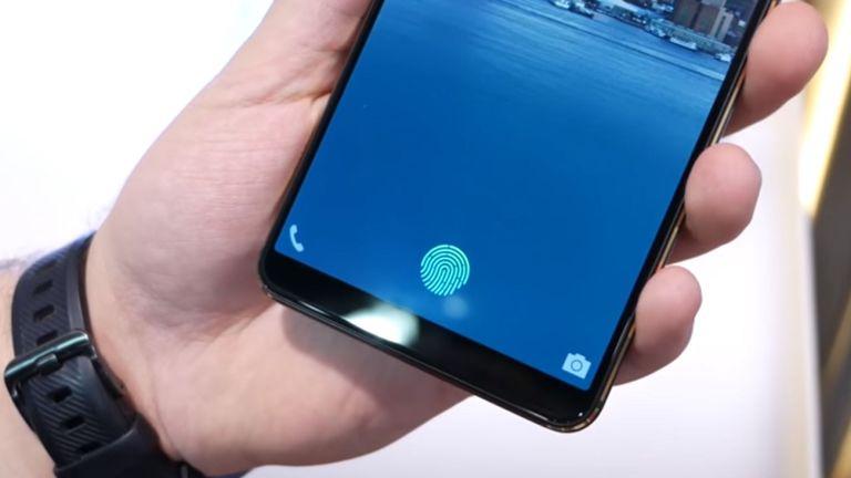 The use of fingerprint sensor