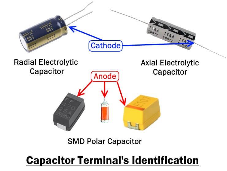 Capacitor Terminal's Identification