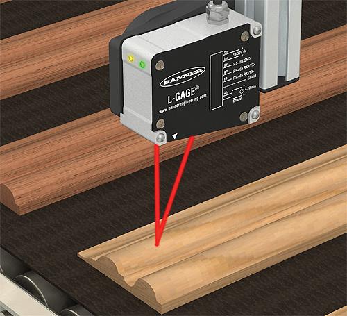 Measuring Distance with Laser Sensor