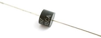 15V 24.4A Bidirectional TVS Diode