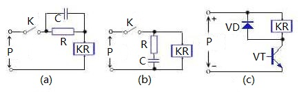 flyback diode in switching power supply circuit