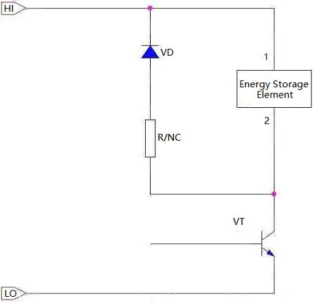 Typical Freewheeling Circuit