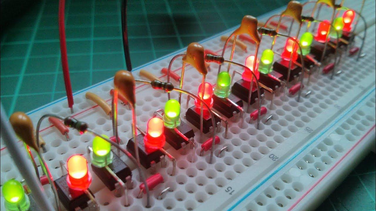 Figure1.Opto-Isolator Oscillator