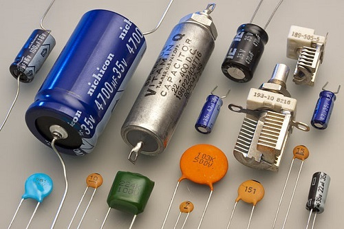 Different Capacitors