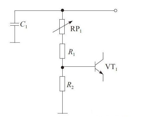 Variable Resistance Voltage Divider Bias Circuit