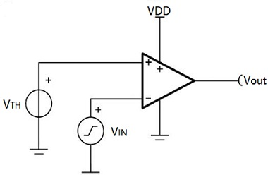 Using Operational Amplifier as a Comparator