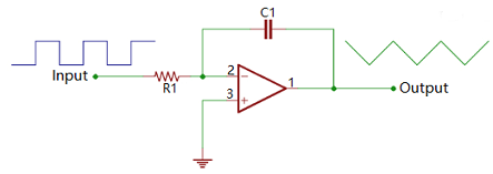 Integrated Circuit Using Op-amp