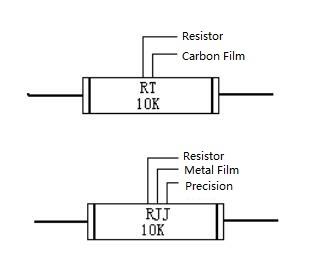 Carbon Film Resistor and Precision Metal Film Resistor