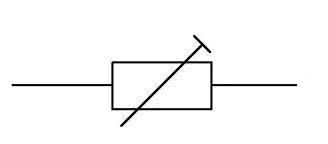 Preset Resistor Symbol