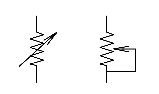 Potentiometer Symbol