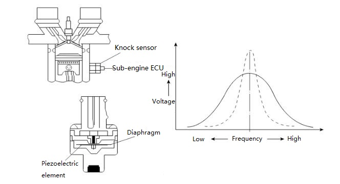 Structure of a Knock Sensor