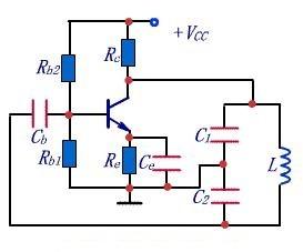 Capacitive feedback oscillation circuit