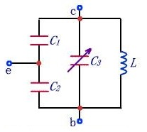 Frequency selective network with adjustable frequency