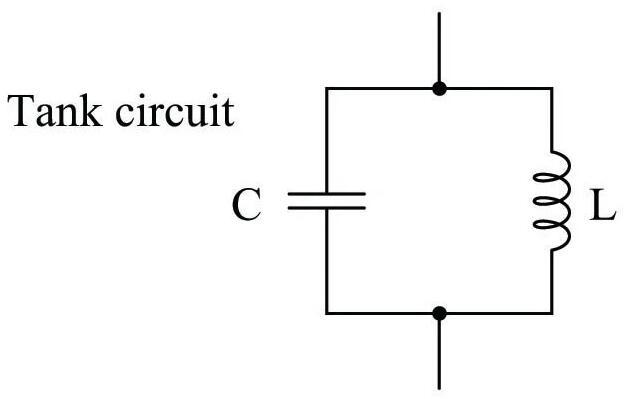 LC free resonance circuit