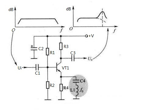 Series resonance high frequency boost circuit