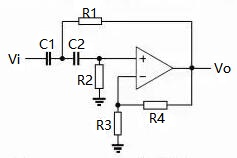 Voltage-controlled High-pass Filter Circuit