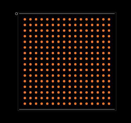 MCF5235CVM150 Footprint