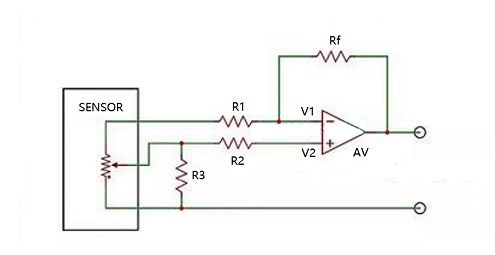 Simple Position Sensor Circuit