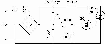 Photoresistor Dimming Circuit