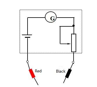 Circuit of Ohmeter