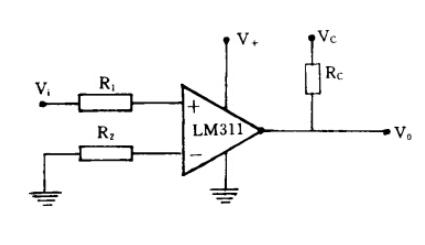 Figure 1. LM311 Circuit Diagram