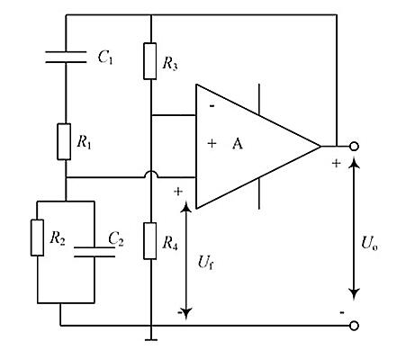 Figure 3. RC Bridge Oscillation Circuit
