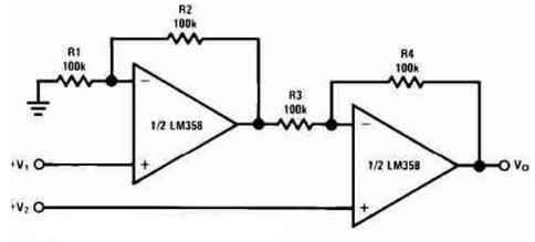 DC Differential Amplifier