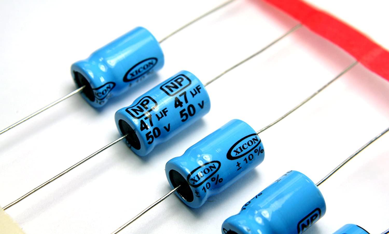 Non-polarized capacitor