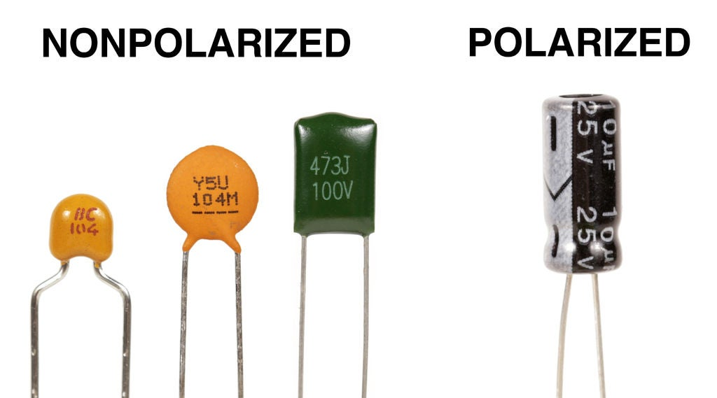 Non-polarized Capacitor and Polarized Capacitor