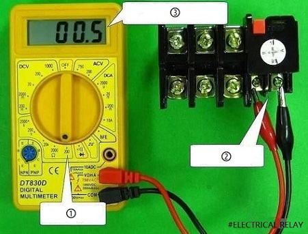 Thermal relay test