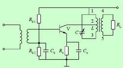 High frequency small signal resonant amplifier