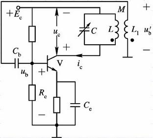 Mutual inductance coupled oscillator