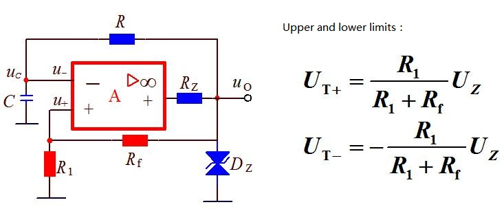 Rectangular wave generating circuit