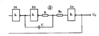 RC ring oscillator