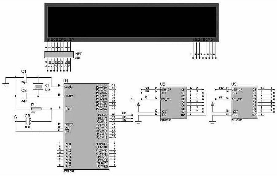 simulation hardware circuit diagram