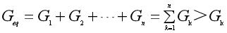 The equivalent conductance
