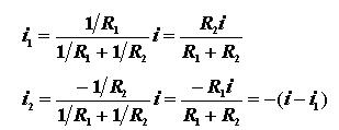 Formula for two resistors in parallel