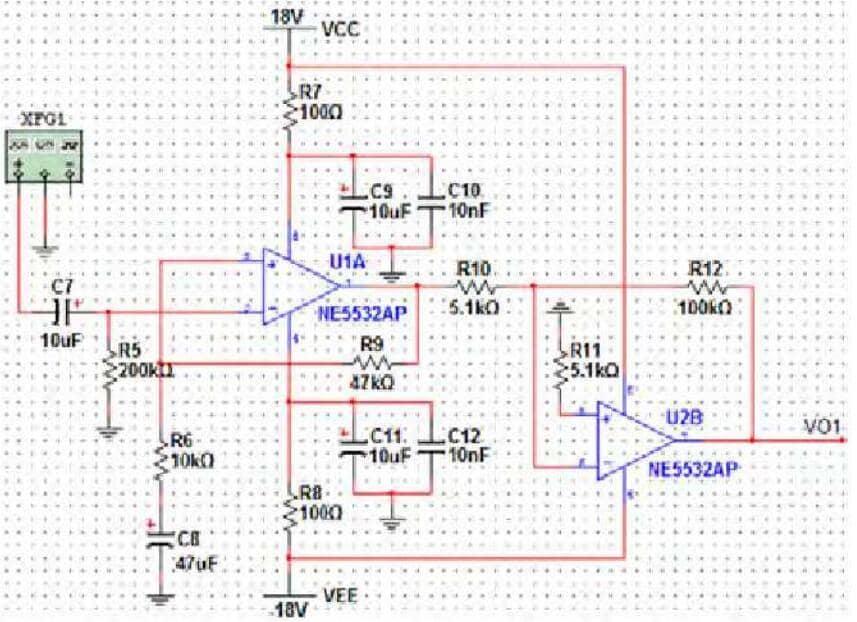 ne5532 preamplifier circuit