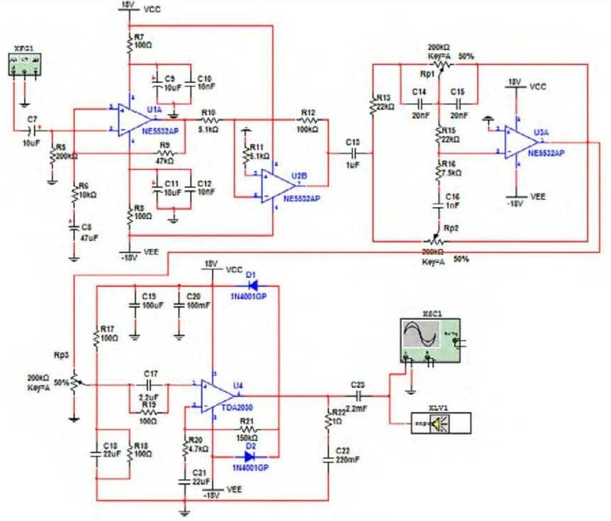 ne5532 circuit