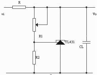 TL431 Circuit: Adjustable Regulated Power Supply