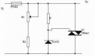 TL431 Circuit: Overvoltage Protection