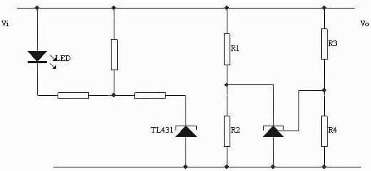 TL431 Circuit: Voltage Monitor