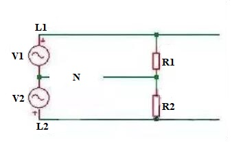 Neutral Line Open Circuit Diagram