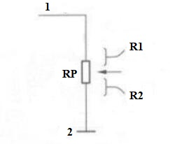 Potentiometer Adjustment Resistor