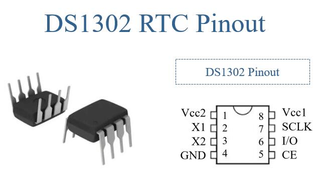 ds1302 rtc pinout
