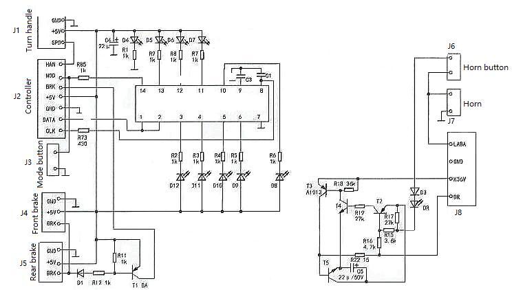 Figure 2 Meter circuit diagram