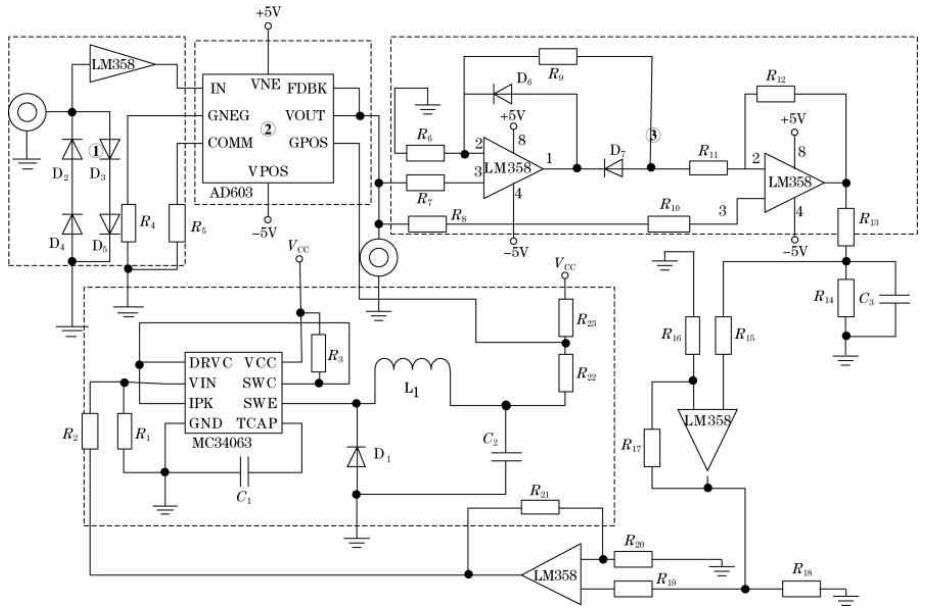 Figure 3 System Hardware circuit diagram