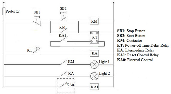 time relay application circuit