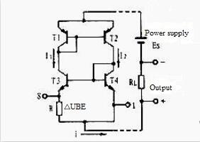 Figure 3 The core circuit of the temperature sensing part