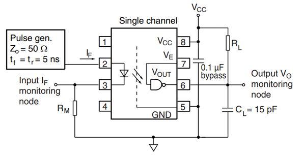 6N137 application circuit